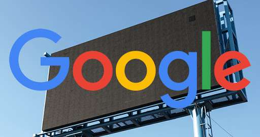 Google Ads ad billboards