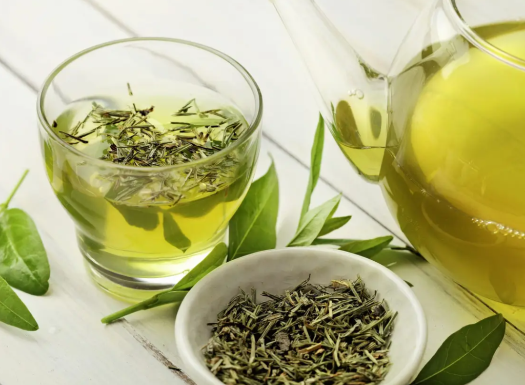Green Tea to lose belly fat overnight