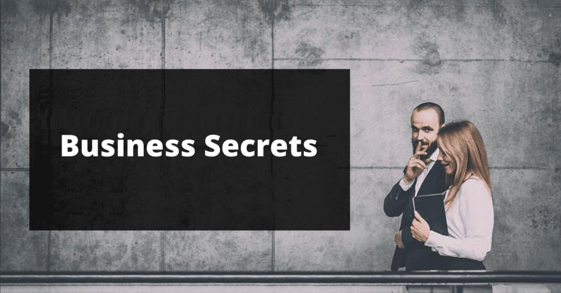 secrets about business