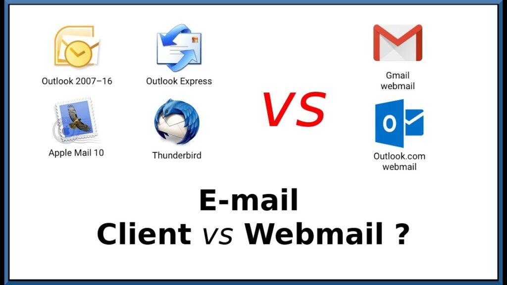 webmail vs email