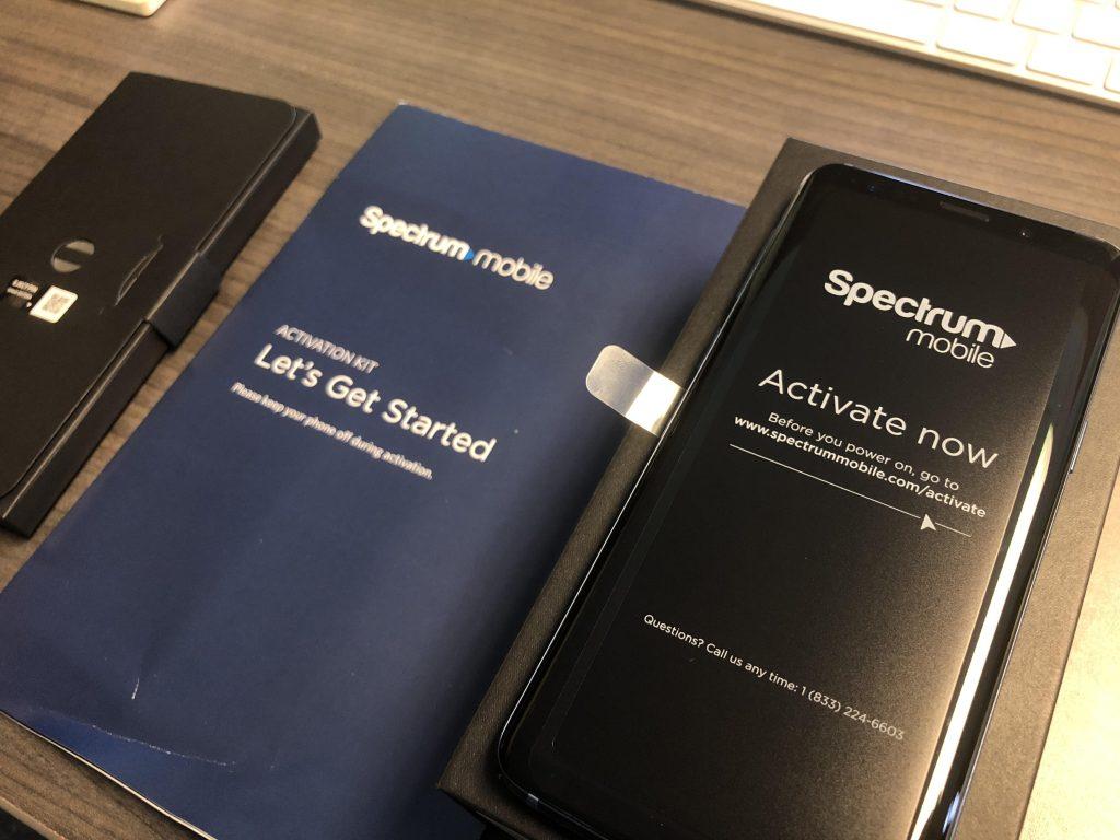 Spectrum mobile activation